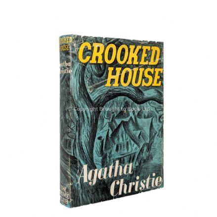 Crooked House by Agatha Christie First Edition The Crime Club by Collins 1949